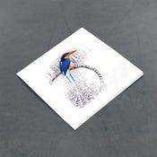 Image of Buff Breasted Paradise Kingfisher - Miniature
