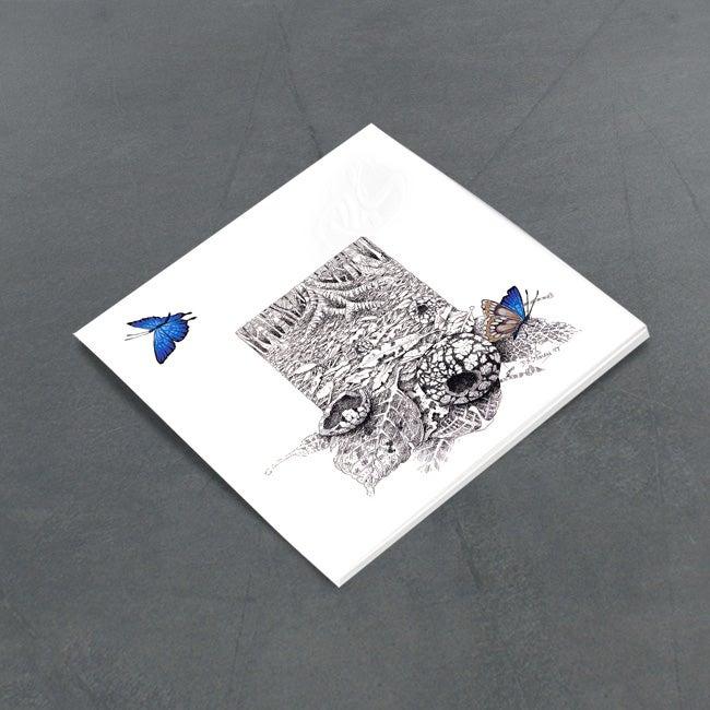 Image of Common Oak Blue Butterflies - Miniature