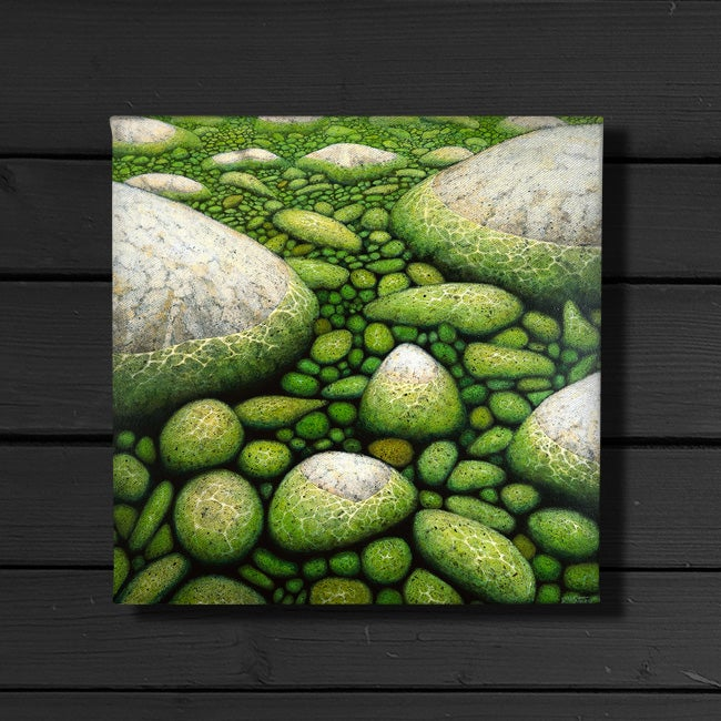 Image of Water and Stone - Canvas Print