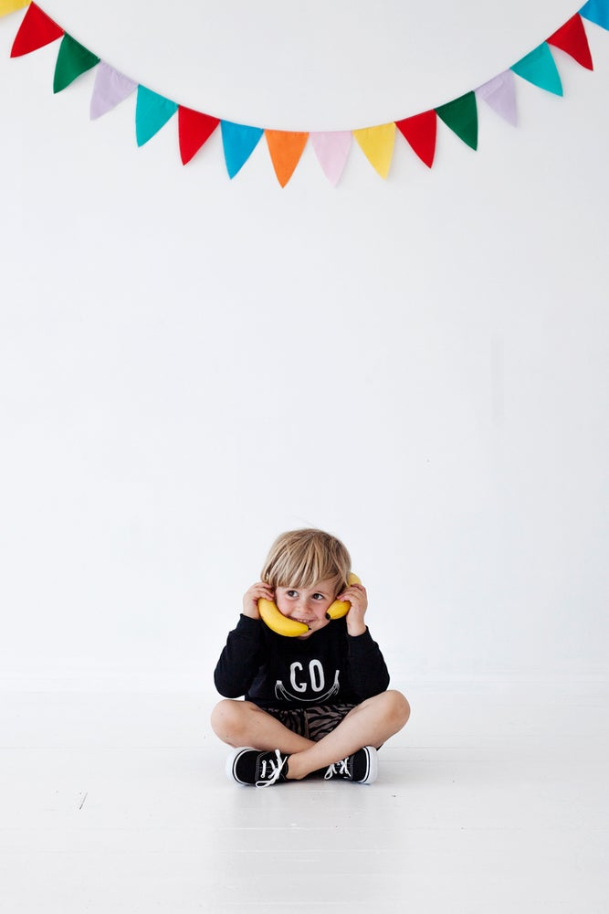 Image of Go Bananas Sweater black