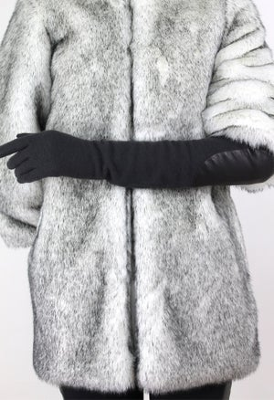 Image of EXTRA LONG GLOVES WITH ELBOW PATCH
