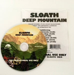 Image of SLOATH 'Deep Mountain' Promo CDR