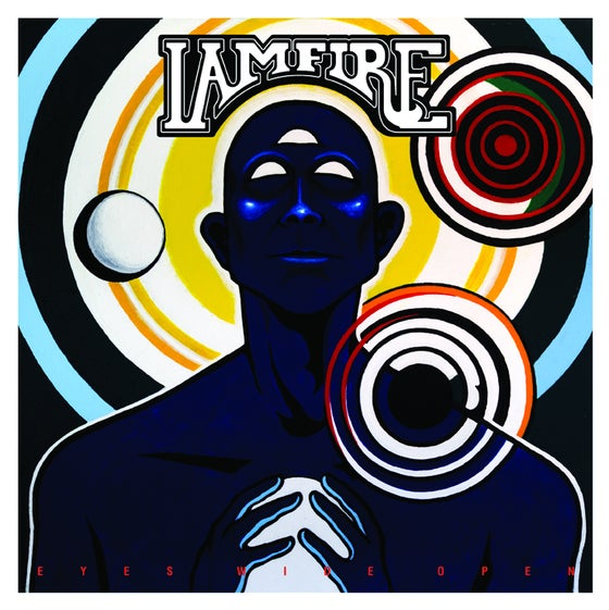 "Image of IAMFIRE - Eyes Wide Open 10"". PREORDER"