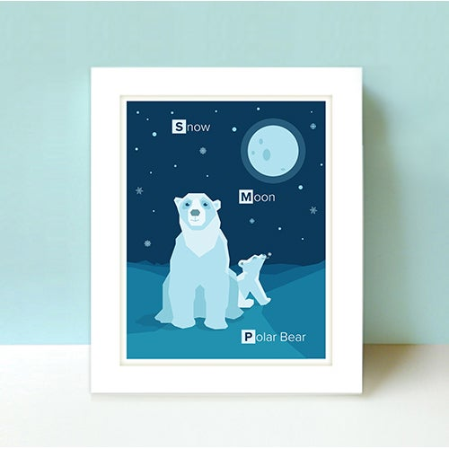 Image of Education-Limited Edition Polar Bears