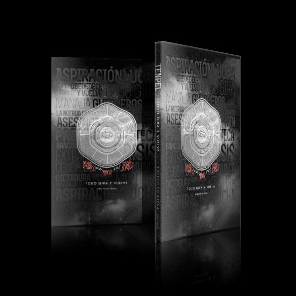 """Image of DVD """"Todo Gira y Vuelve"""" Directo en Sala Arena."""