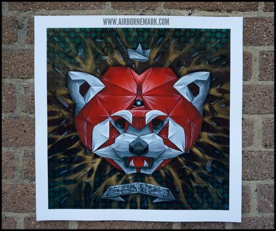 """Image of """"Origami Red Panda"""""""