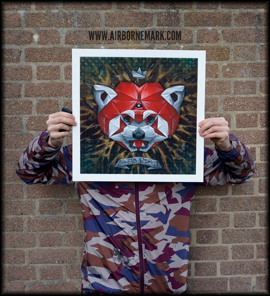 "Image of ""Origami Red Panda"""