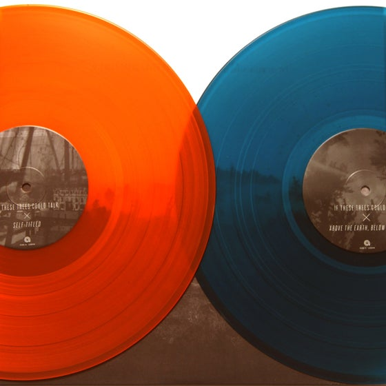 """Image of 12"""" If These Trees Could Talk - 2XLP - S/T - Above the Earth, Below the Sky"""