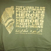 Image of **NEW** Palestinian Heroes Shirt