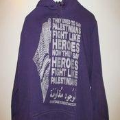 Image of Palestinian Heroes Hoodies