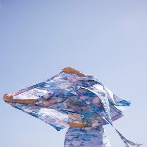 Image of Kimono - Pollution print