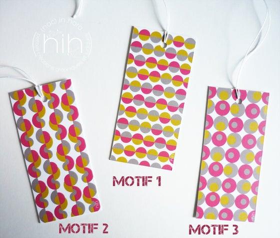 Image of lot étiquettes cadeau [GrAfiK] coloris 5