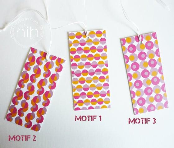 Image of étiquettes cadeau [GrAfiK] coloris 4