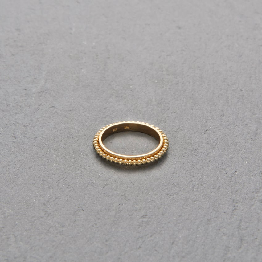 Image of Mount Lavinia Pellet Ring Gold