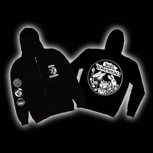 Image of Saboteurs design Zip-up  Hoodies
