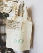 Image of Here Comes Trouble Tote