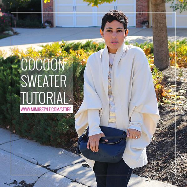 Image of DIY Cocoon Sweater Tutorial