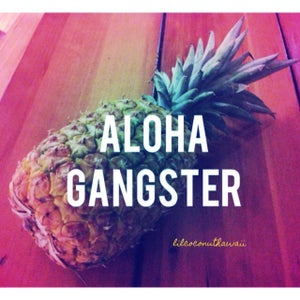 Image of Aloha Gangster Clutch