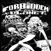Image of FORBIDDEN LOVE PLANET - Print 01