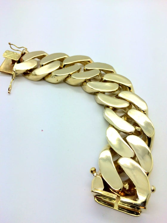 Image of 38mm Cuban Link Bracelet