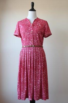 Image of SALE Pink Floral Maze Dress (Orig $65)