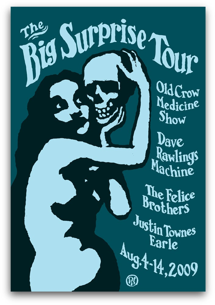 Image of Big Surprise Tour Poster