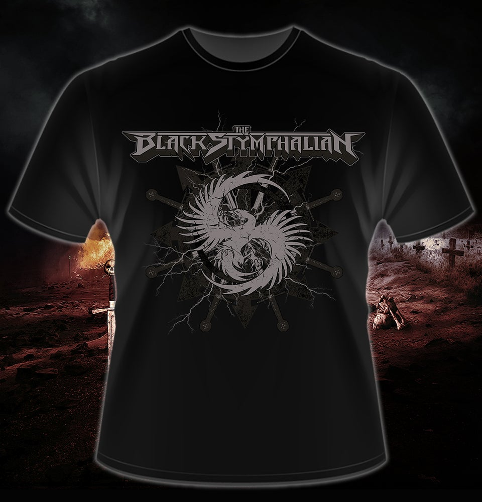 "Image of The Black Stymphalian - ""Khaos Wheel"" T-Shirt"