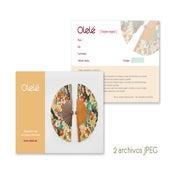 Image of Tarjeta regalo imprimible - Elige el importe - Archivos JPEG para imprimir - ENVÍO GRATIS