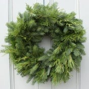 Image of Fresh Evergreen Wreath Making Class