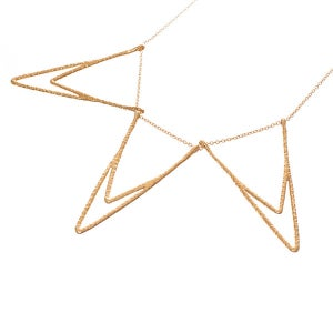 Image of Iris Triple Necklace