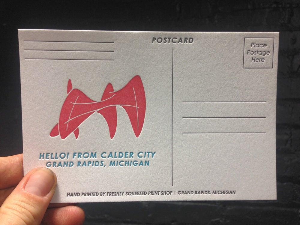 Image of Calder City Postcard