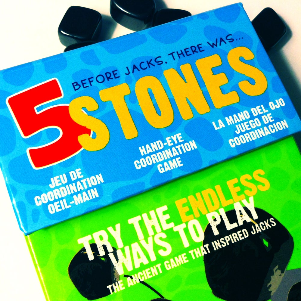 Image of 5 Stones   Hand Eye Coordination Game