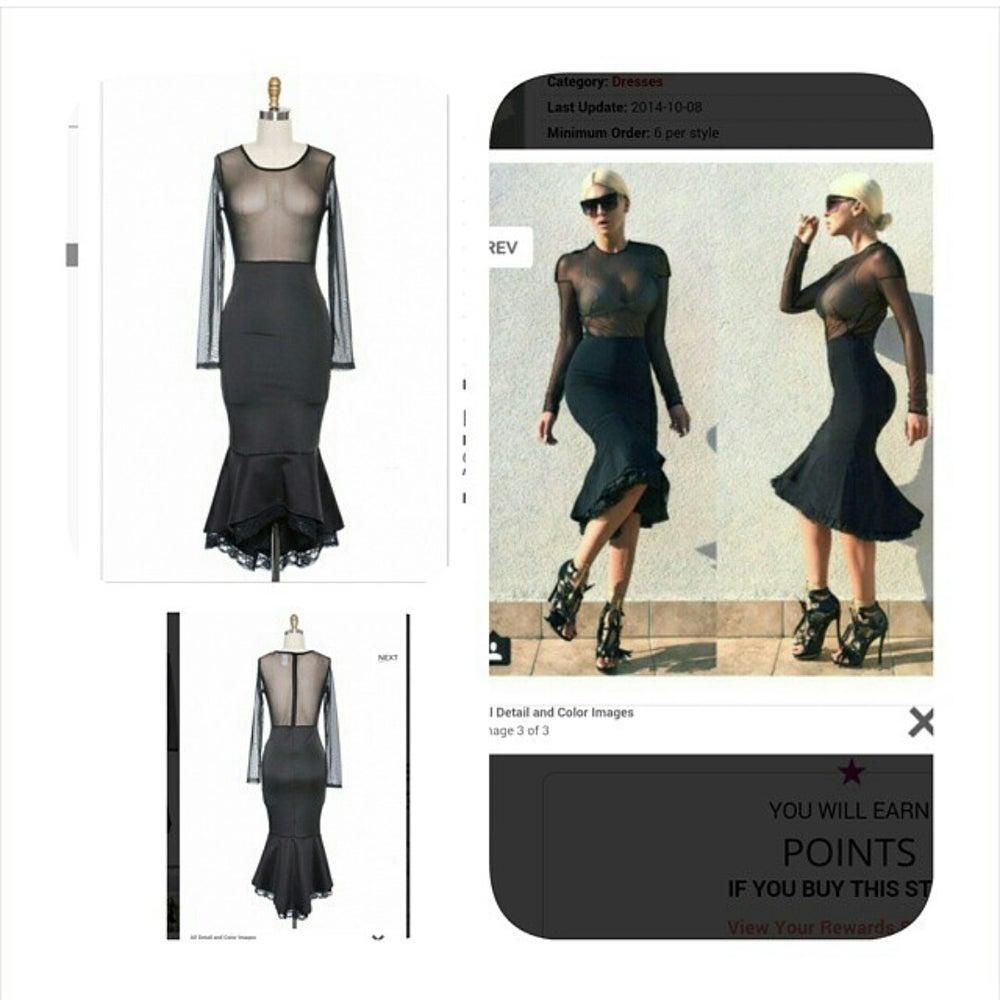 Image of master piece dress plus size