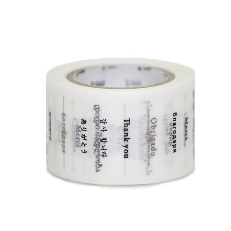 Image of MT Washi Tape - Thank You