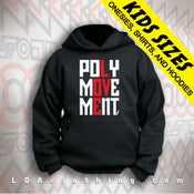 Image of KIDS POLYMOVEMENT HOODIE- CLASSIC