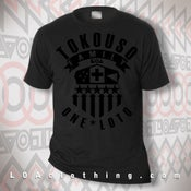 Image of TOKOUSO - ONE LOTO - BLACK ON BLACK