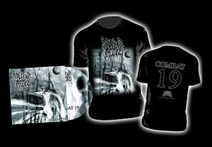Image of Purulent Jacuzzi - Combat 19 CD/ T-SHIRT