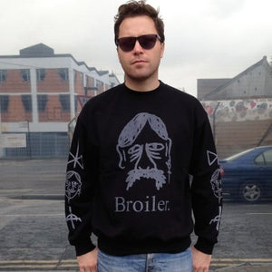 Image of Sergei Sweatshirt - Black