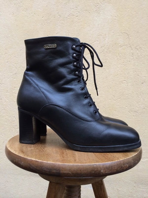 Image of Vintage Aaltonen Leather Boots