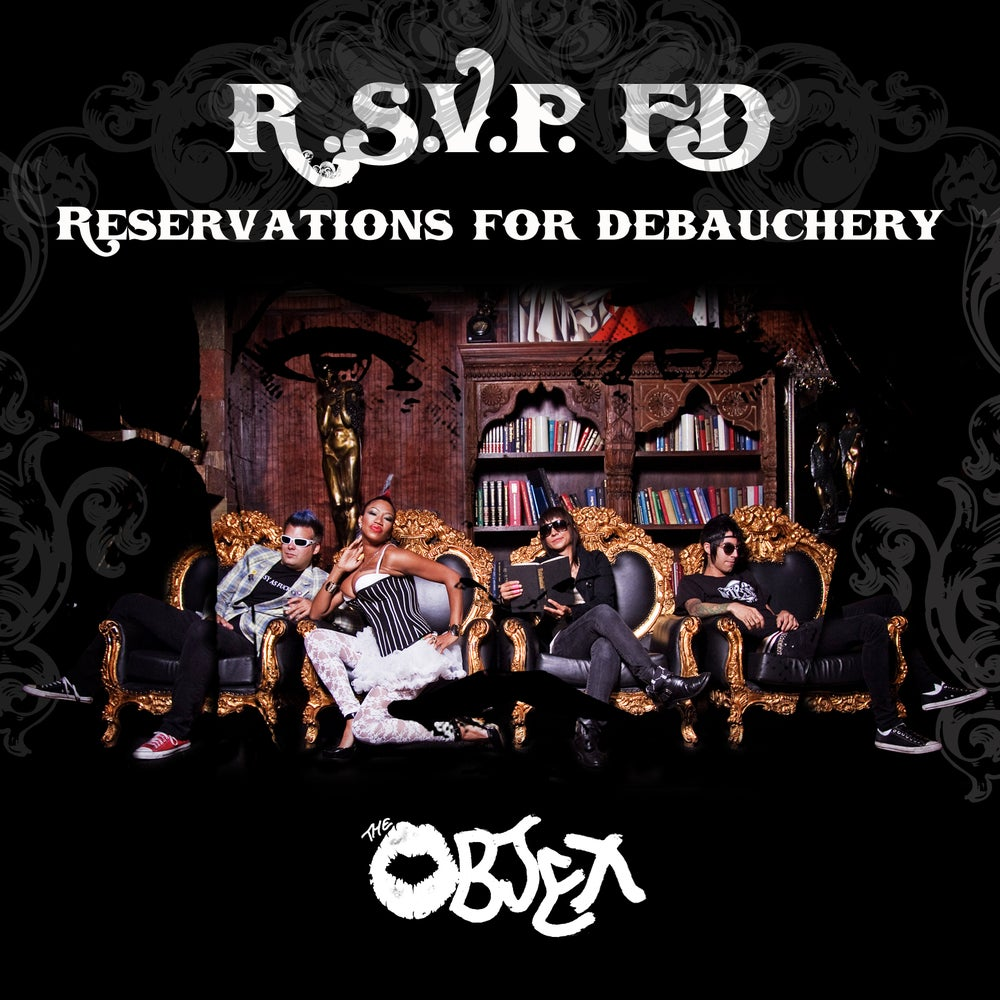 """Image of The Objex """"Reservations for Debauchery"""" CD"""