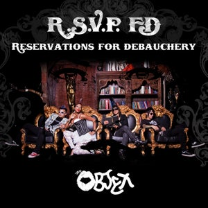 "Image of The Objex ""Reservations for Debauchery"" CD"