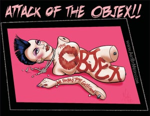 "Image of The Objex ""Attack of The Objex"" CD"