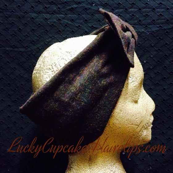 Image of Chocolate Wide Turban