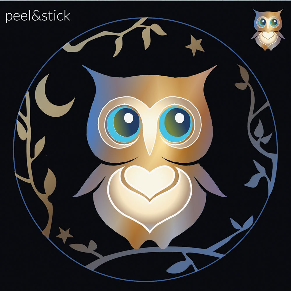 Image of Owl Decal
