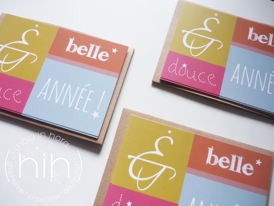 Image of lot 5 cartes de voeux ≒(tutti e) quattro≒