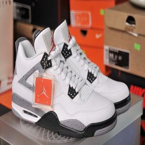 Image of Air Jordan 4 Retro White Cement