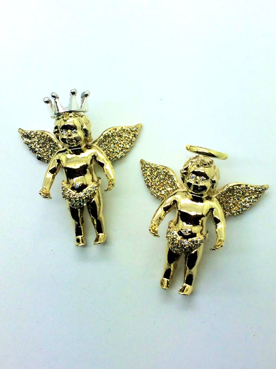"Image of Micro ""Davincci"" Angel W/ Crown & Halo"