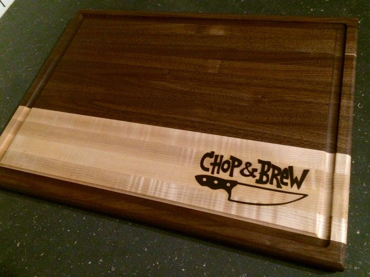 Chop brew online superstore chop brew cutting board - The big chop cutting board ...