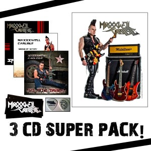 Image of 3 CD Super Pack of Might and Power!
