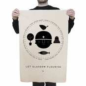 Image of St Mungo Tea Towel